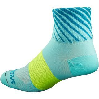 Specialized Women's RBX Mid Sock, turquoise/turquoise - Radsocken