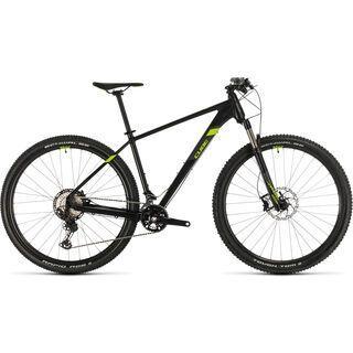 *** 2. Wahl *** Cube Race ONE 29 2020, black´n´green - Mountainbike   Größe 17 Zoll