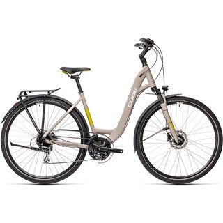 Cube Touring Pro Easy Entry grey´n´green 2021