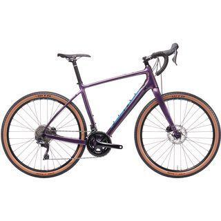 Kona Libre 2019, purple w/ blue & desert tan - Gravelbike