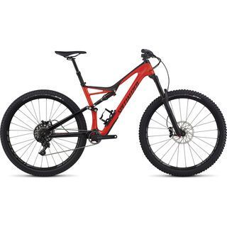 Specialized Stumpjumper FSR Expert Carbon 29 2017, red/black - Mountainbike