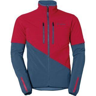 Vaude Men's Primasoft Jacket, indian red/blue - Radjacke