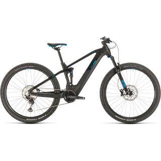 Cube Stereo Hybrid 120 Race 625 29 2020, black´n´blue - E-Bike