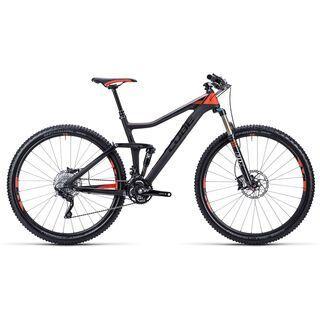 Cube Stereo 120 Super HPC Race 29 2015, black flashred - Mountainbike
