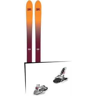 Set: DPS Skis Wailer F99 Foundation 2018 + Marker Squire 11
