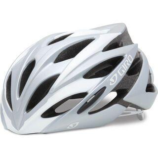 Giro Savant, white/silver - Fahrradhelm