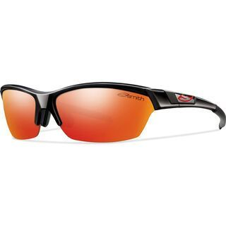 Smith Approach, black/red mirror - Sportbrille