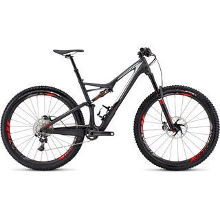 Specialized S-Works Stumpjumper FSR 29 2016, carbon/white/red - Mountainbike