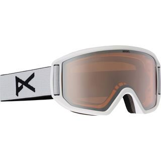 Anon Relapse + Spare Lens, white/silver amber - Skibrille