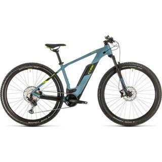 Cube Reaction Hybrid Race 29 2020, blue´n´green - E-Bike