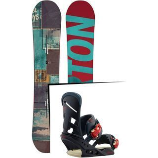 Set: Burton Process Off-Axis 2015 +  Mission (1191281S)