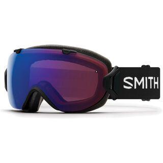 Smith I/OS inkl. WS, black/Lens: cp photochromic rose flash - Skibrille