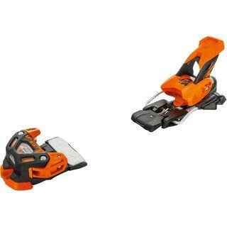 Tyrolia Attack 16 ohne Bremse, solid black flash orange - Skibindung