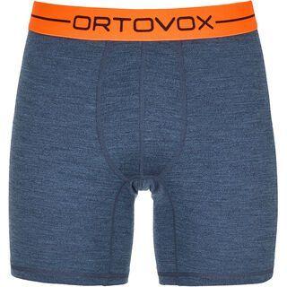 Ortovox 185 Merino Rock'n'Wool Boxer M, night blue blend - Unterhose