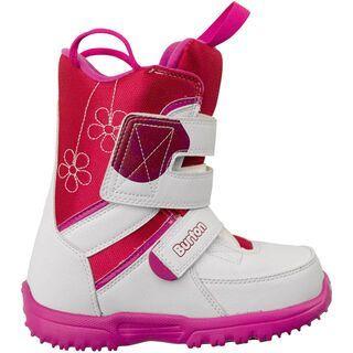 Burton Grom, White/Pink - Snowboardschuhe