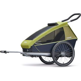 Croozer Kid for 1 2018, lemon green - Fahrradanhänger
