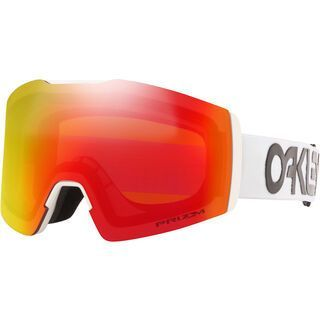 Oakley Fall Line XM Prizm Factory Pilot, white/Lens: torch iridium - Skibrille