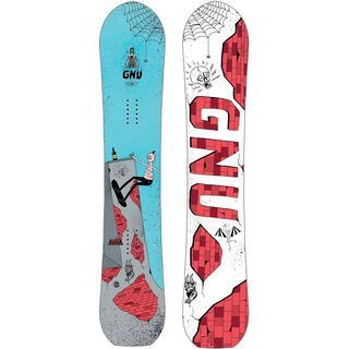 Gnu Money Wide 2019 - Snowboard