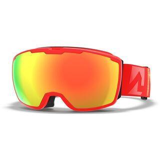 Marker Perspective+ inkl. WS, infrared/Lens: red plasma mirror - Skibrille