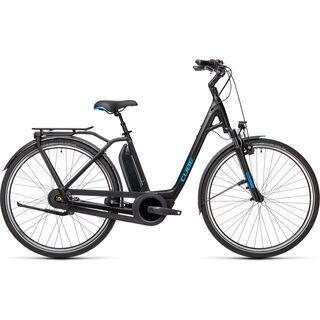 Cube Town Hybrid Pro RT 500 2021, black´n´blue - E-Bike