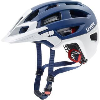uvex finale, blue-white mat - Fahrradhelm
