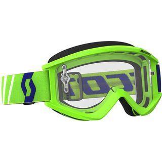 Scott Goggle Recoil Xi, green/Lens: clear - MX Brille