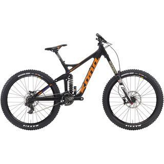 Kona Supreme Operator 2016, carbon/orange - Mountainbike