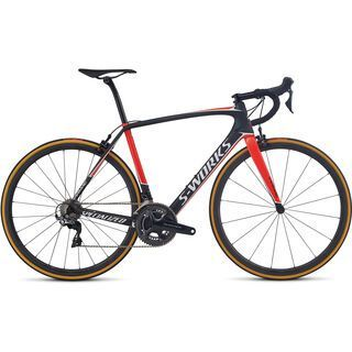 Specialized S-Works Tarmac Dura-Ace 2017, carbon/red/met white - Rennrad