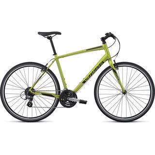 Specialized Sirrus 2017, lime/titanium/green - Fitnessbike