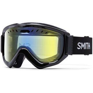 Smith Knowledge OTG, black/yellow sensor mirror - Skibrille