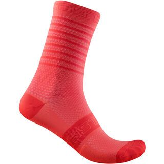 Castelli Superleggera W 12 Sock brilliant pink