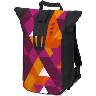 Ortlieb Velocity Design Vector, purple-orange - Kuriertasche
