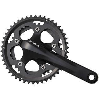 Shimano Kurbelgarnitur Cyclocross FC-CX50 2x10 - 46/36, schwarz