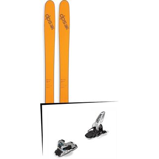 DPS Skis Set: Wailer 99 Pure3 2016 + Marker Griffon 13