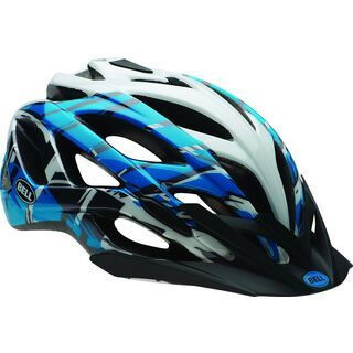 Bell Sequence, blue/white burnout - Fahrradhelm