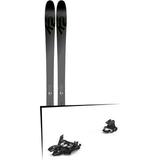 Set: K2 SKI Pinnacle 95Ti 2019 + Marker Alpinist 9 black/titanium