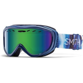 Smith Cadence + Spare Lens, crystallin/green sol-x mirror - Skibrille