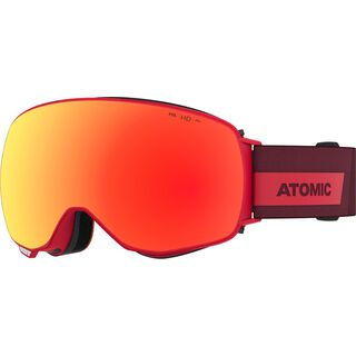 Atomic Revent Q HD inkl. WS, red/Lens: red hd - Skibrille
