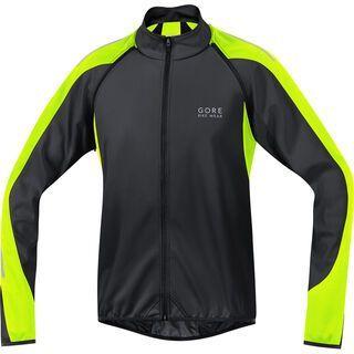 Gore Bike Wear Phantom 2.0 Windstopper SO Jacke, black neon yellow - Radjacke