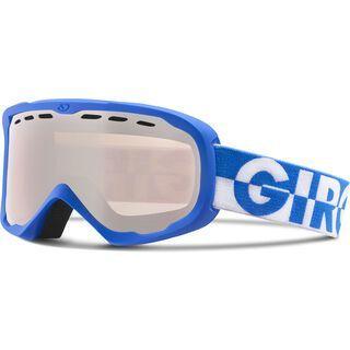 Giro Focus, blue 50/50/rose silver - Skibrille