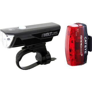 Cateye GVolt 25 + Micro G Beleuchtungsset
