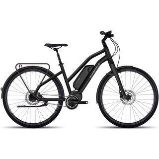 Ghost Hybride Square Trekking 6 W 2017, black/grey - E-Bike