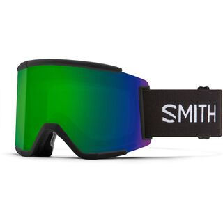 Smith Squad XL inkl. WS, black/Lens: cp sun green mir - Skibrille