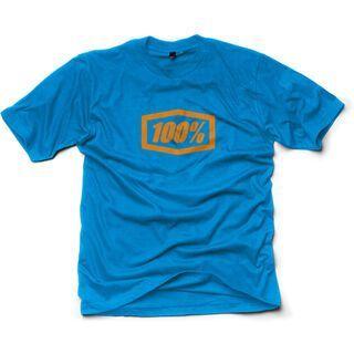 100% Essential, heather blue - T-Shirt