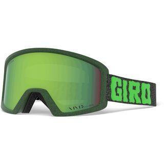 Giro Blok, green cosmic slime/Lens: vivid emerald - Skibrille