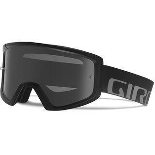 Giro Blok MTB inkl. Wechselscheibe, black/Lens: grey silver flash, clear - MX Brille