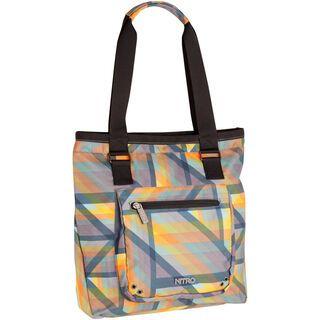 Nitro Tote Bag, geo orange - Shopper