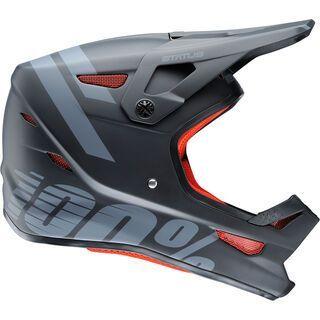 100% Status DH/BMX Helmet, black meteor - Fahrradhelm