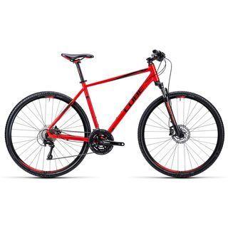 Cube Nature Pro 2015, red black - Fitnessbike