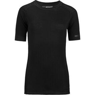 Ortovox Merino 185 Short Sleeve, black raven - Unterhemd